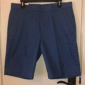 NWT Greg Norman blue shorts size 34